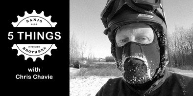 Year-round Cyclist Chris Chavie Started the MN Bike Trail Navigator Blog