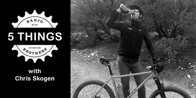 Five Things With Cyclist Chris Skogen