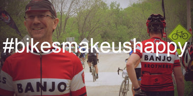 #BIKESMAKEUSHAPPY: A COLLECTION OF SNAPS AND STORIES