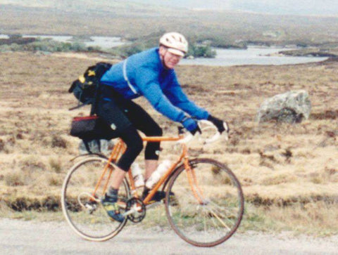 Banjo Eric Credit Card Bikepacking in 1996