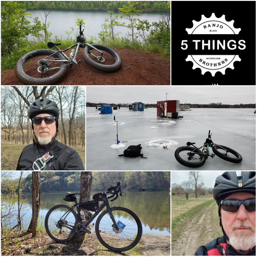 Five Things: Banjo Brothers Interviews Chris Chavie, Prolific Blogger and Cyclist