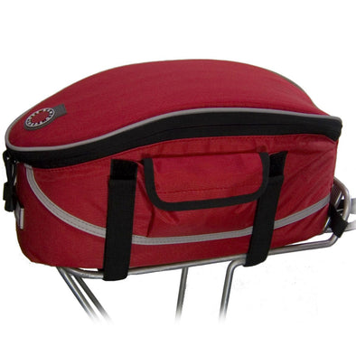 Rack Top Bag, RED