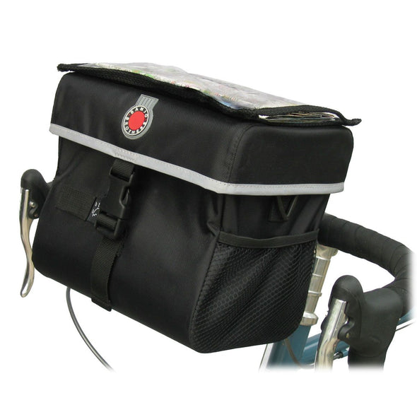 Quick-Release Waterproof Handlebar Bag, Large