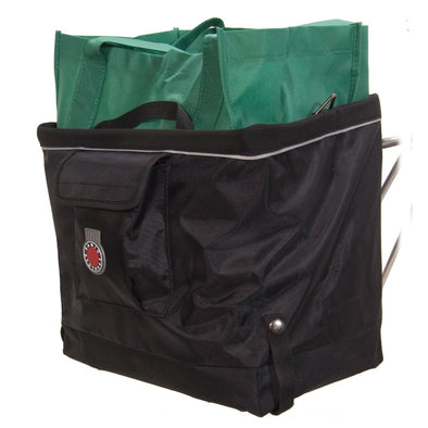 Banjo Brothers Folding Grocery Pannier with grocery  bag