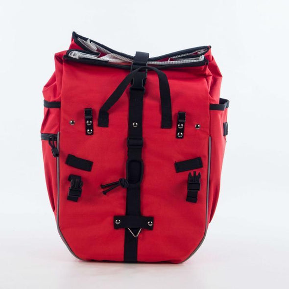 01130R REFURBISHED: Red Backpack Pannier