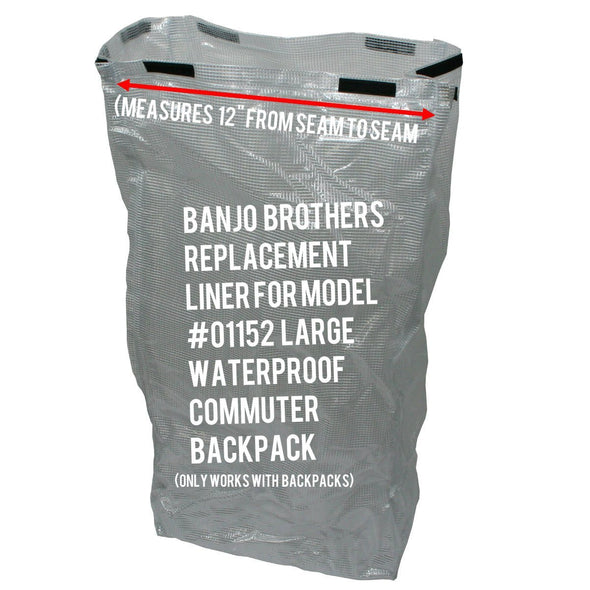 Banjo Brothers Replacement Waterproof Liner for the Large Commuter Backpack