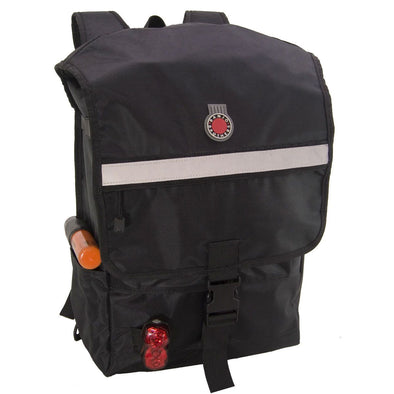 Banjo Brothers Metro Backpack Black Front View