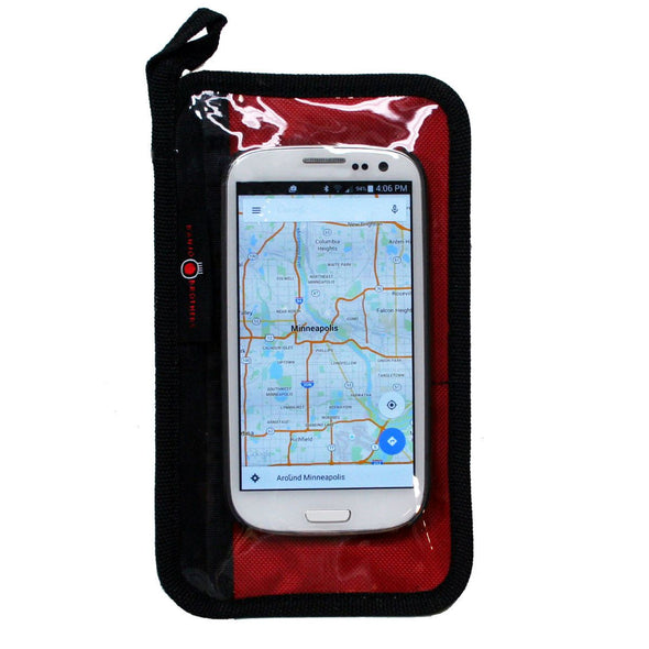 Banjo Brothers Cycling Phone Wallet with phone