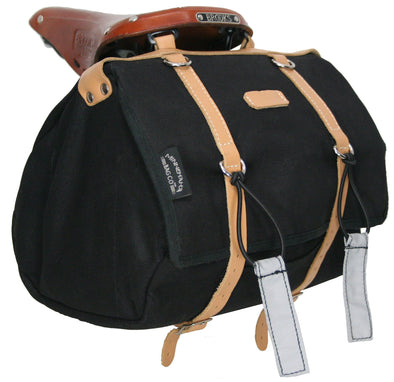 Minnehaha Series Canvas Saddle Bag, Medium