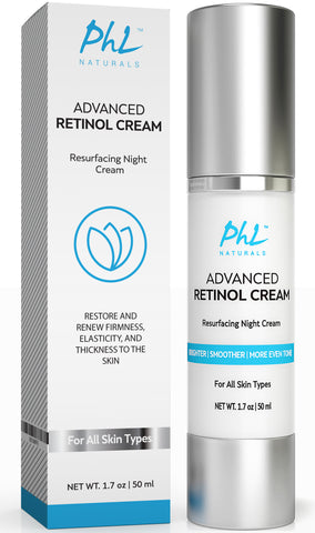Advanced Retinol Cream with Hyaluronic Acid