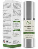 Hyaluronic Acid Serum with Vitamin C and E for Face, 1 fl oz.