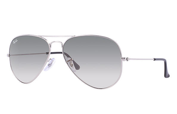 Ray-Ban Aviator Silver Sunglass/Medium