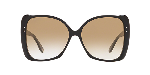 Gucci Model 0471 Oversized Plastic Sunglass