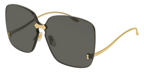 Gucci Oversized Rimless Sunglass