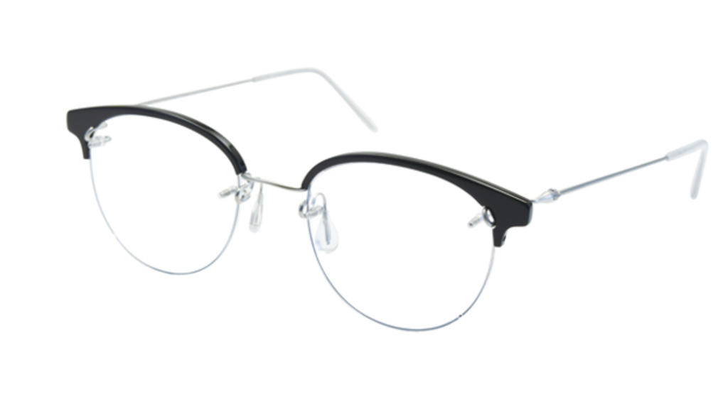 Kawasaki Half Rim Collection KK631PH-Titanium/Acetate
