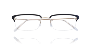 Kawasaki Half Rim Collection KK631PG-Titanium/Acetate