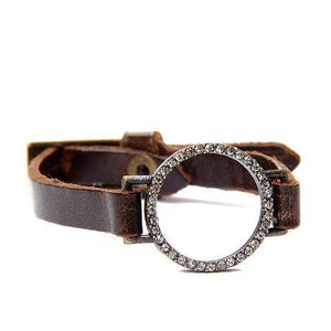 Rebel Designs leather bracelet