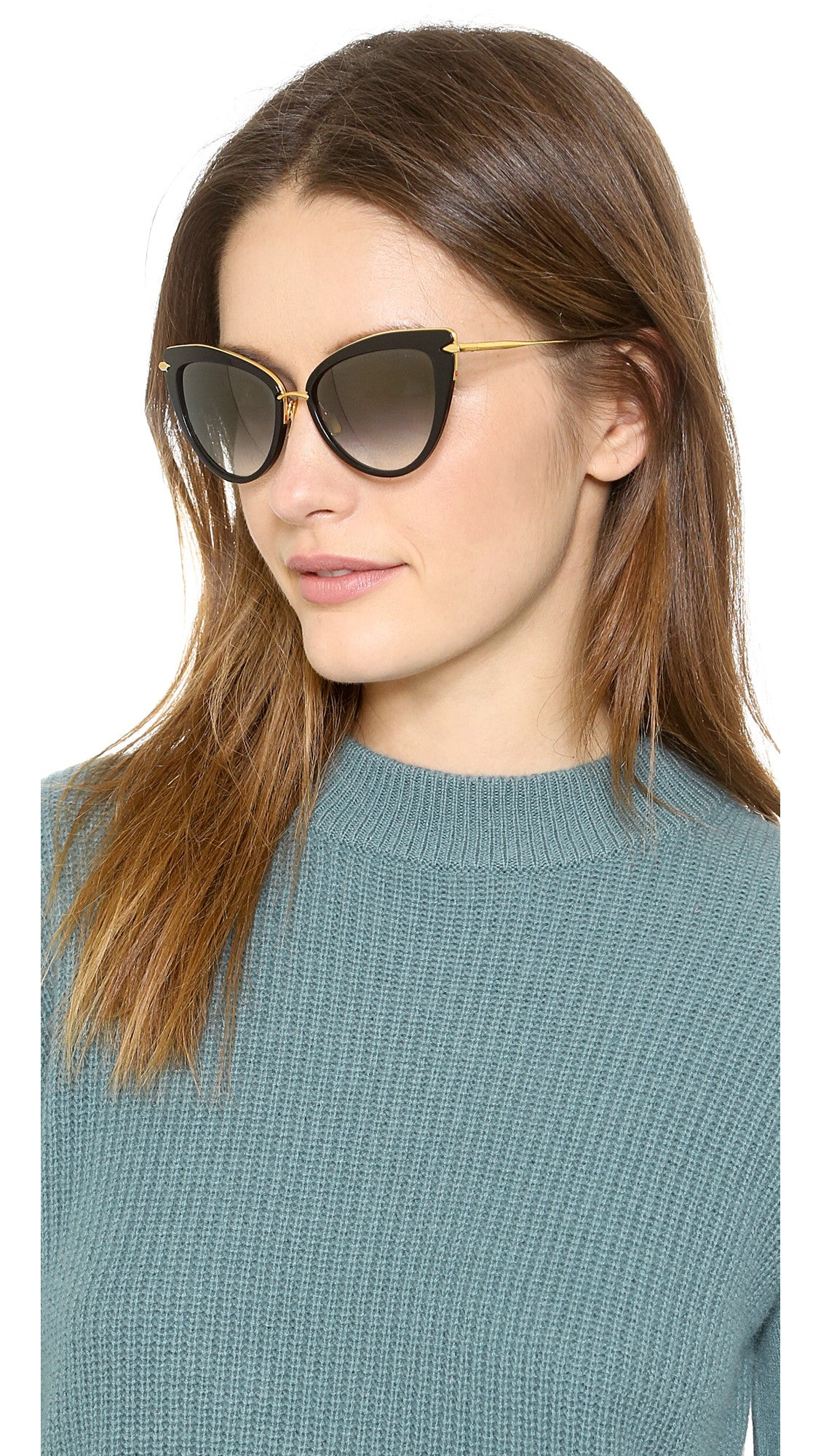 Dita Heartbreaker Sunglasses (Black)