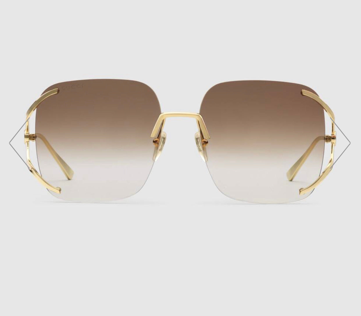Gucci Rimless Sunglass