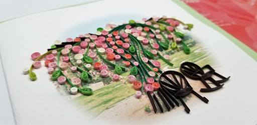 Quilling Greeting Card - Peggy Martin