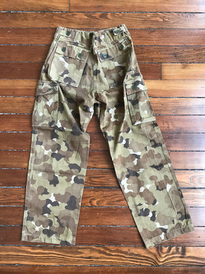 "Vietnam War Vietnamese ""Cloud"" Pattern Camouflage Trousers"