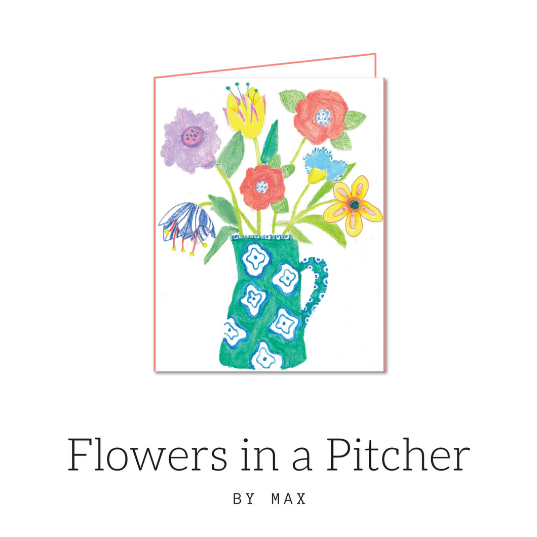 WLP flowers in a pitcher by Max
