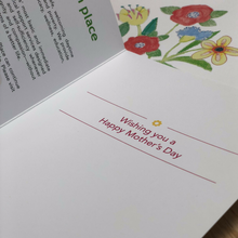 inside Mother's Day card