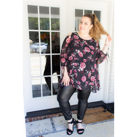 How to Wear Plus Size (Faux) Leather | Curves with Purpose