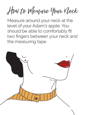 Measure your neck