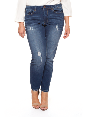 Delilah Distressed Denim
