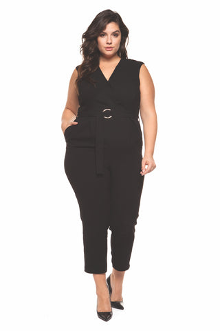 Arie Plus Size Jumpsuit