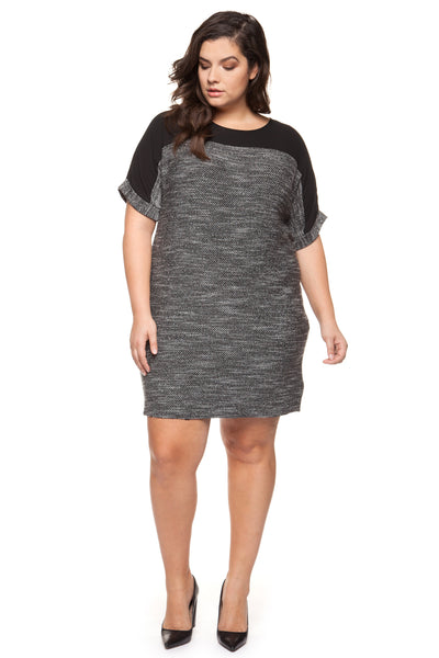 Tessa Knitted Plus Size Dress
