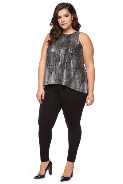 Harriet Sleeveless Plus Size Top