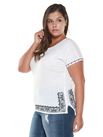 Grace Embroidered T-shirt