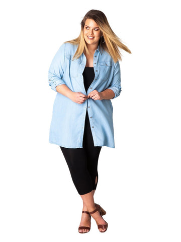 Jessica Denim Tunic