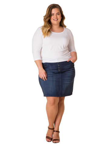 Rosalie Denim Skirt