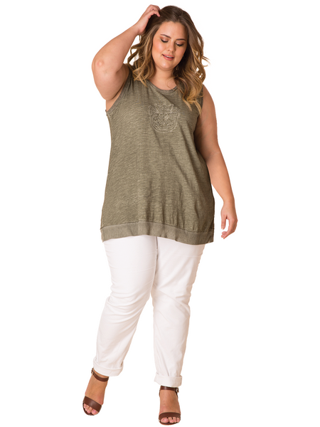 Gabi Sleeveless Top