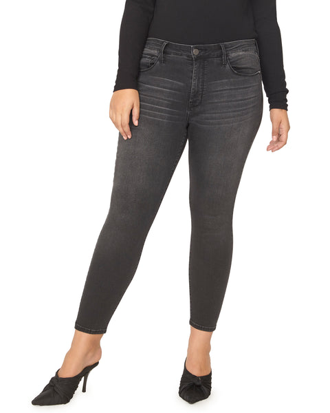 Art School Grey Plus Size Jeans