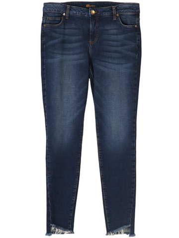 Connie Freyed Ankle Jeans