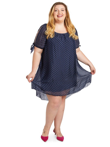 Dashing Dot Dress