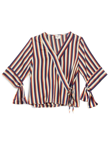 Hayden Striped Plus Size Top