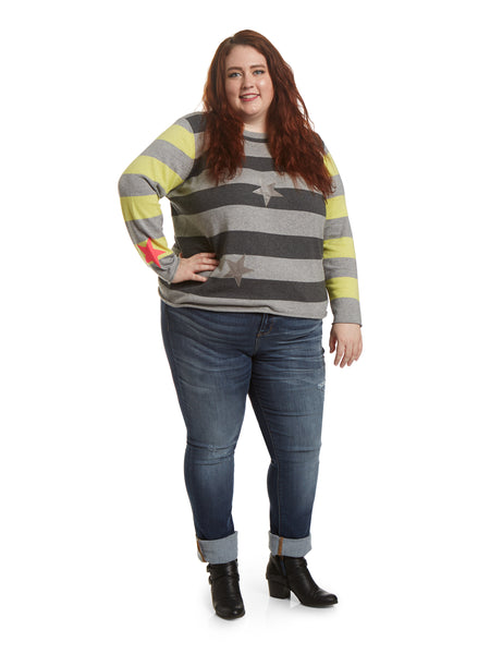 Judy Blue Plus Size Straight Leg Cuffed Jeans