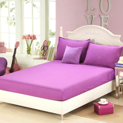 Fitted Bed Sheet With Elastic Bed