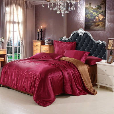 Queen Size King With Silk Sheets