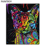 Cat Freak Painting Canvas