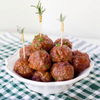 Sweet and Spicy Cranberry Meatballs