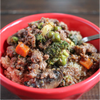 Beef and Quinoa Stir Fry