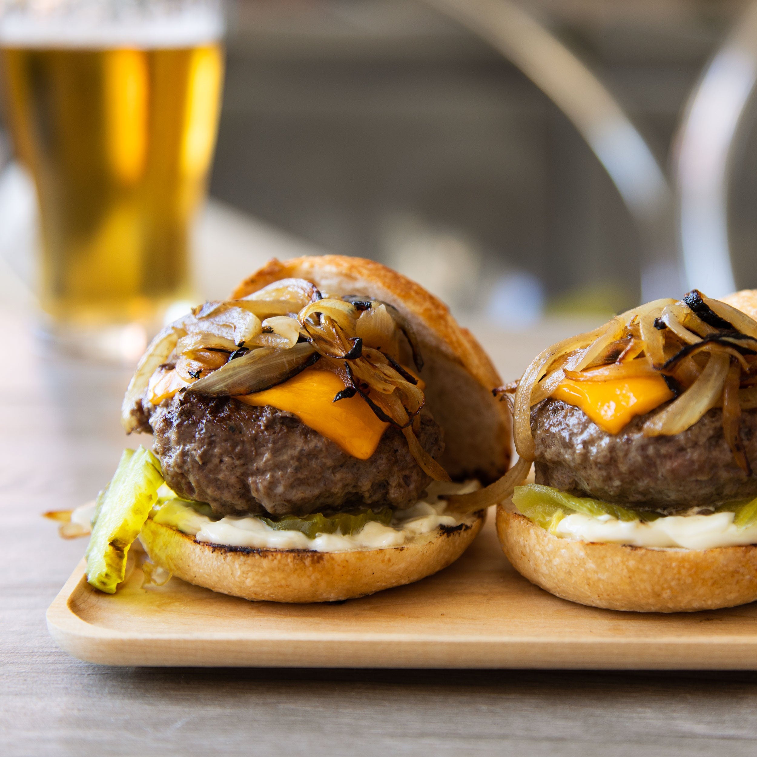 Caramelized Onion Sliders
