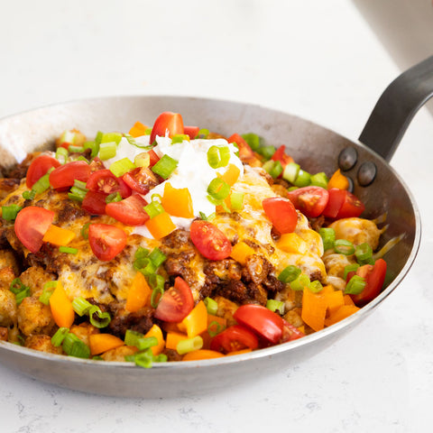 Tex-Mex Beef Totchoes
