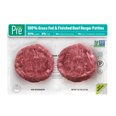92% Lean 1/3 lb. Burger Patties
